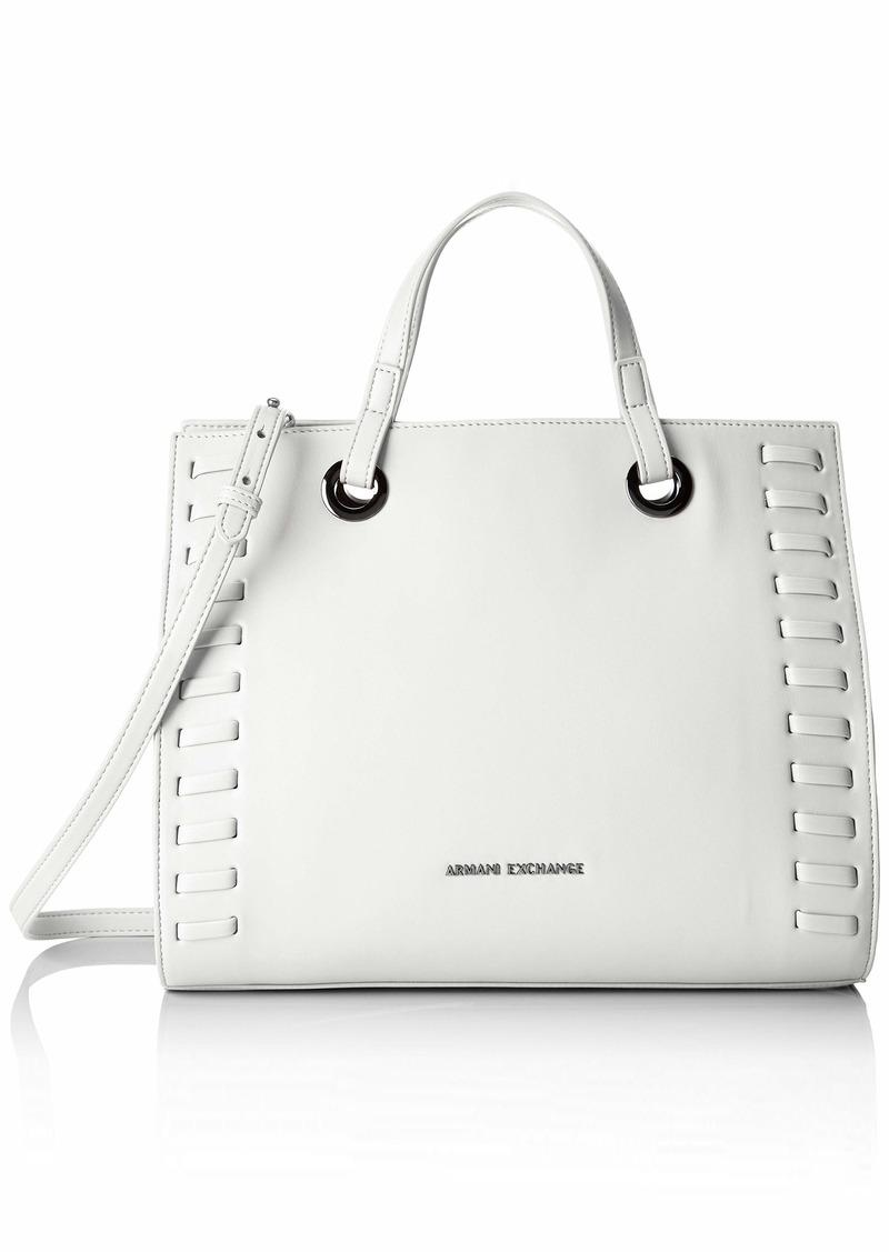 A|X Armani Exchange Women's Medium Handbag bianco - white 208
