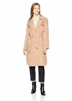 A|X Armani Exchange Women's Mid Length Trench Coat with Waist Tie  XS