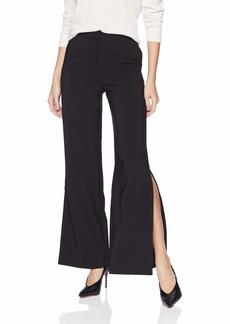 A|X Armani Exchange Women's Mid Rise Wide Leg Trouser