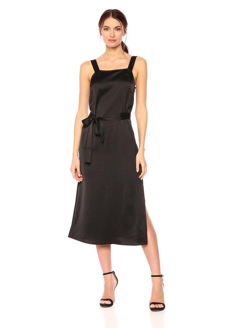 A|X Armani Exchange Women's Midi Tailored Crepe Dress
