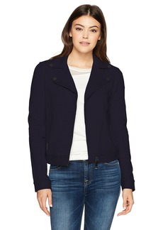 A X Armani Exchange Women's Moto Jacket  XL