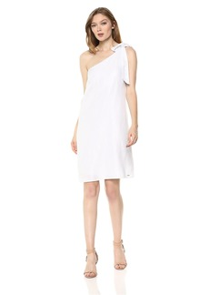 A|X Armani Exchange Women's One Shoulder Party Dress