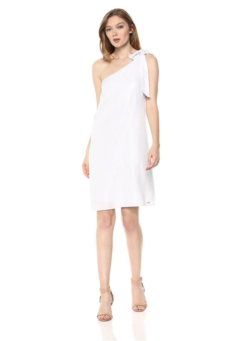 A|X Armani Exchange Women's One Shoulder Party Dress