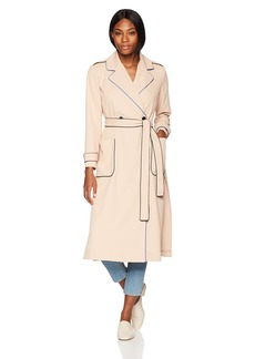 A X Armani Exchange Women's Outline Trench Coat  S