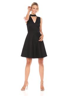 A X Armani Exchange Women's Party Collar Dress