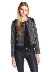 A|X Armani Exchange Women's Patterned Blazer