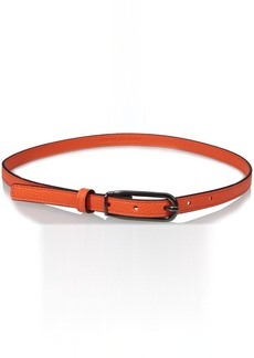 A|X Armani Exchange Women's Pebble Belt