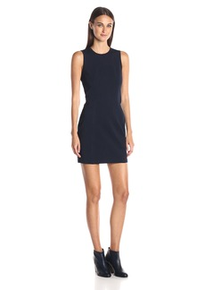 A|X Armani Exchange Women's Pique Bodycon Sleeveless Dress
