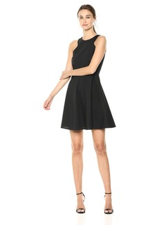 A|X Armani Exchange Women's Pop a-Line Dress