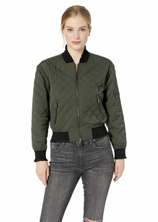 A|X Armani Exchange Women's Quilted Bomber Jacket g. I. Jane M