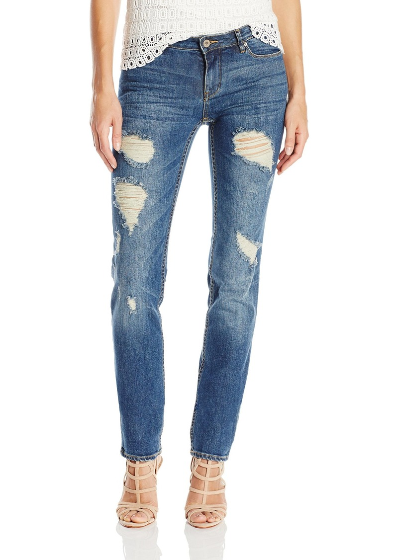 A|X Armani Exchange Women's Rip and Repair Jean