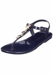 A|X Armani Exchange Women's Rubber Flat Sandal  40 M EU ( US)