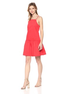 A|X Armani Exchange Women's Short Cami Dress Poppy red