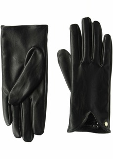 A|X Armani Exchange Women's Sleek AX Gloves  XS/S