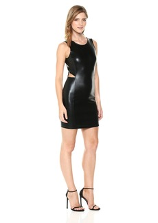 A|X Armani Exchange Women's Sleeveless Bodycon with Cutouts