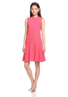 A|X Armani Exchange Women's Sleeveless Button Down Dress