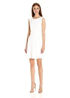 A|X Armani Exchange Women's Sleeveless 'Faux Belt Dress