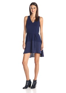 A|X Armani Exchange Women's Sleeveless High Low Dress