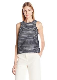 A X Armani Exchange Women's Sleeveless Textured Shell