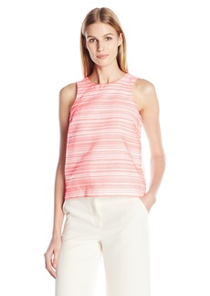 A|X Armani Exchange Women's Sleeveless Textured Shell