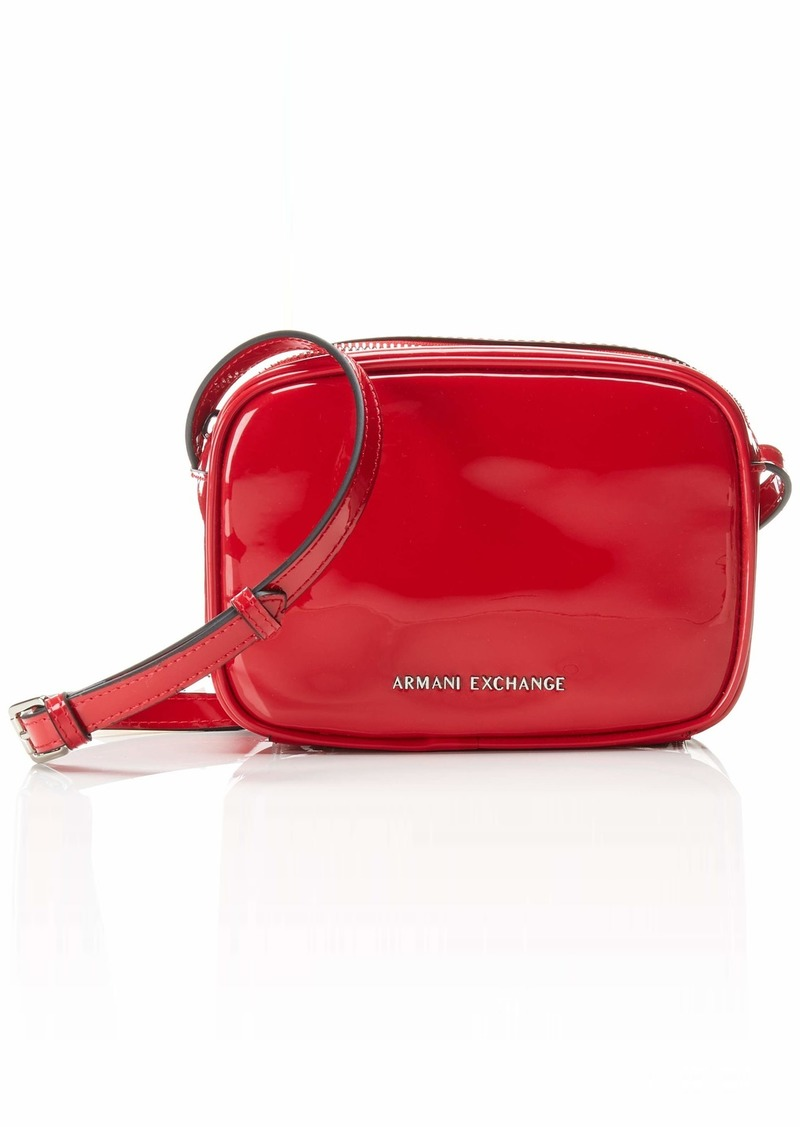 A|X Armani Exchange Women's Small Crossbody Bag rosso - red 267