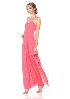 A|X Armani Exchange Women's Solid Sleeveless Maxi Dress