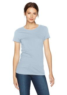 A X Armani Exchange Women's Solid T-Shirt  XS