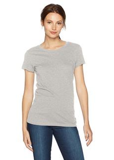 A|X Armani Exchange Women's Solid T-Shirt  XS