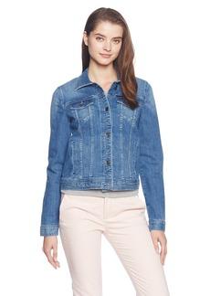 A|X Armani Exchange Women's Stretch Indigo Denim Jacket  XS