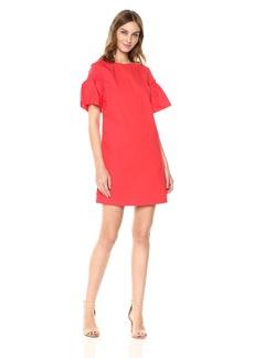 A|X Armani Exchange Women's Structured Shoulder Dress