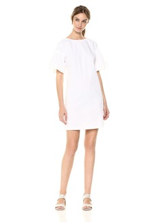 A|X Armani Exchange Women's Structured Shoulder Dress