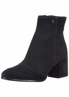 A|X Armani Exchange Women's Suede Boot with Block Heel Fashion  3M M EU ( US)