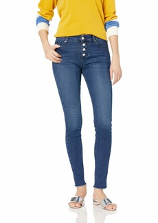 A|X Armani Exchange Women's Super Skinny Button Fly Jean