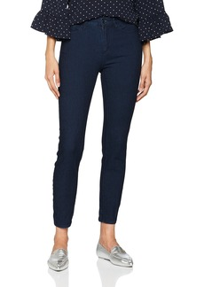 A|X Armani Exchange Women's Super Skinny Cropped Over Dyed Jean