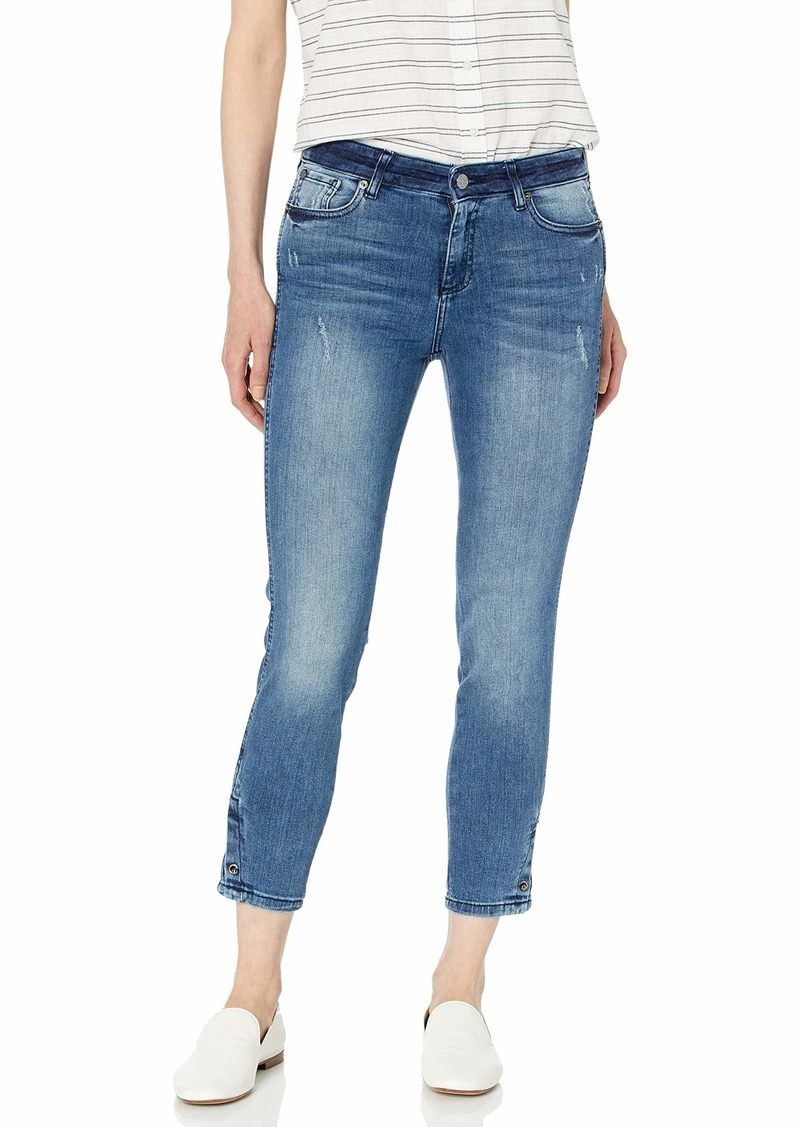 A|X Armani Exchange Women's Super Skinny Pierced Jean