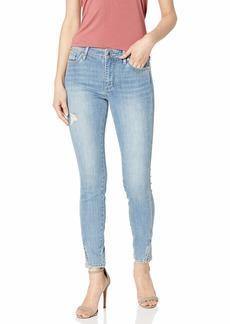 A|X Armani Exchange Women's Super Skinny Side Slit Jean