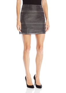 A X Armani Exchange Women's Textured Skirt