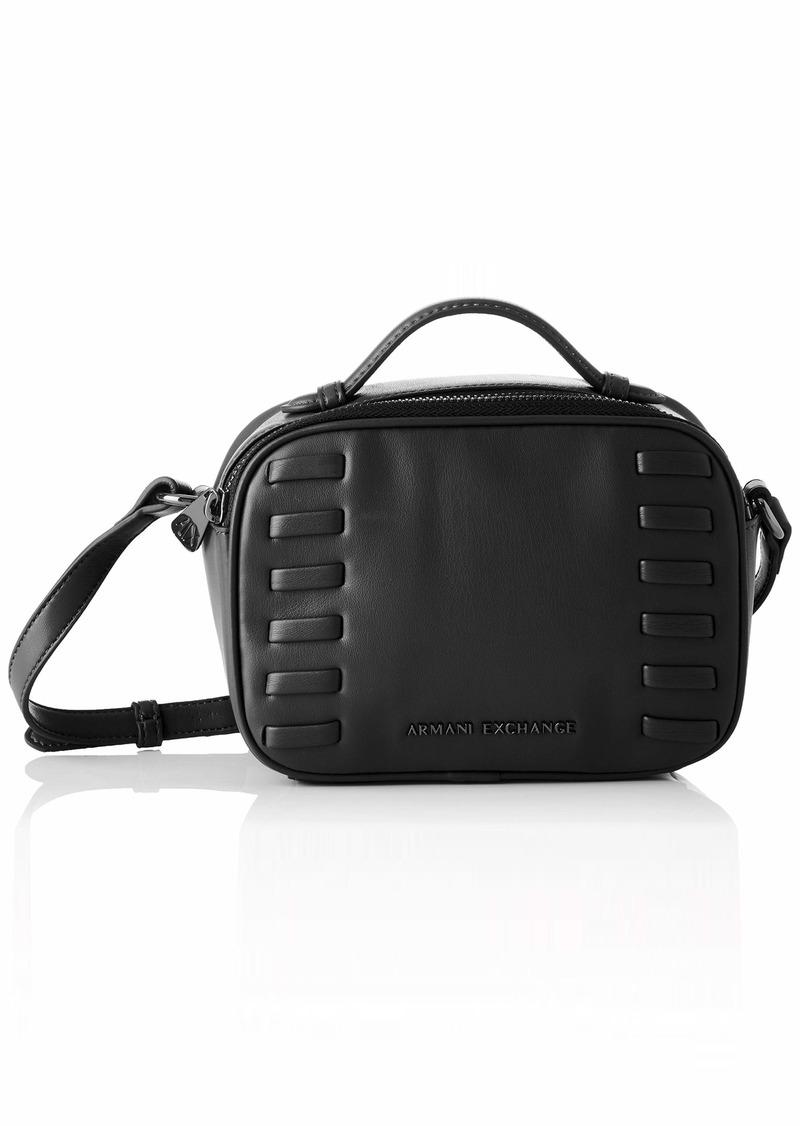 A|X Armani Exchange Women's Top Handle Small Crossbody Bag nero - black 180