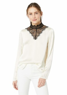 A|X Armani Exchange Women's Victoria Blouse  XS
