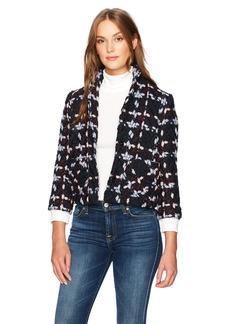 A|X Armani Exchange Women's Wool Blend Multicolor Fashion Jacket  XS