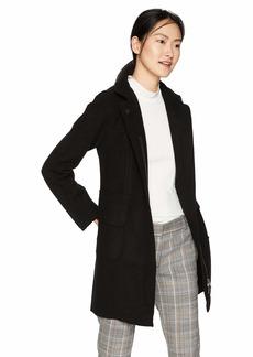 A X Armani Exchange Women's Wool Pocket Pea Coat  S
