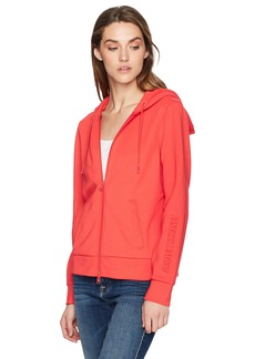 A|X Armani Exchange Women's Zip up Drawstring Hoodie  S