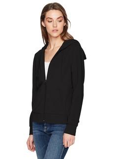 A|X Armani Exchange Women's Zip up Drawstring Hoodie  XL
