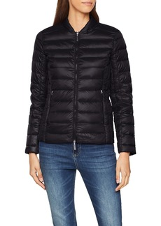A X Armani Exchange Women's Zip Up Fitted Down Jacket  XS