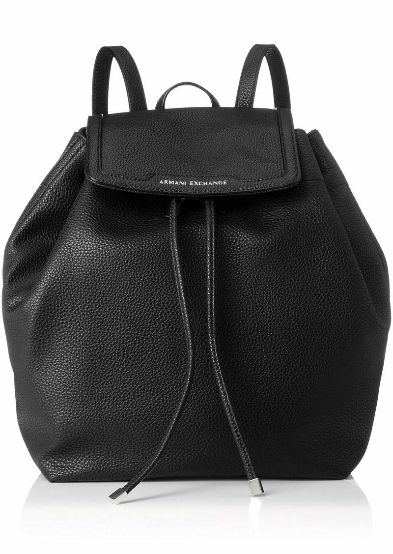 A|X Armani Exchange Womne's Backpack black