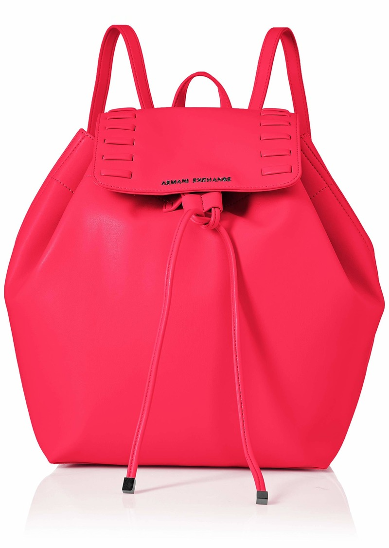 A|X Armani Exchange Womne's Backpack pink flamings - pink flamings 3