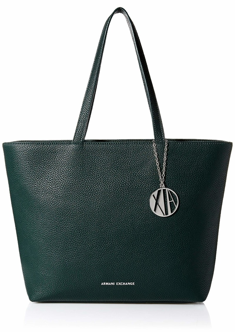 A|X Armani Exchange Zip Top Shoulder Bag Grasshopper 273