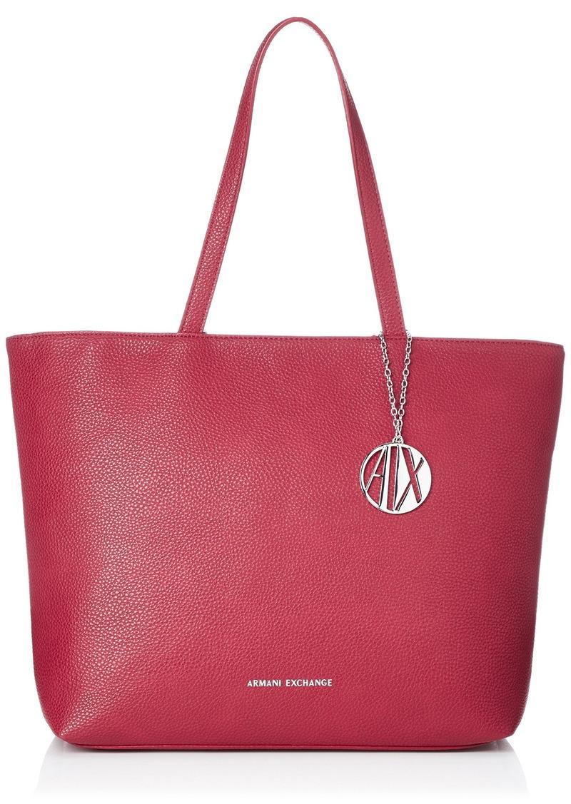 A|X Armani Exchange Zip Top Shoulder Bag Royal red 160