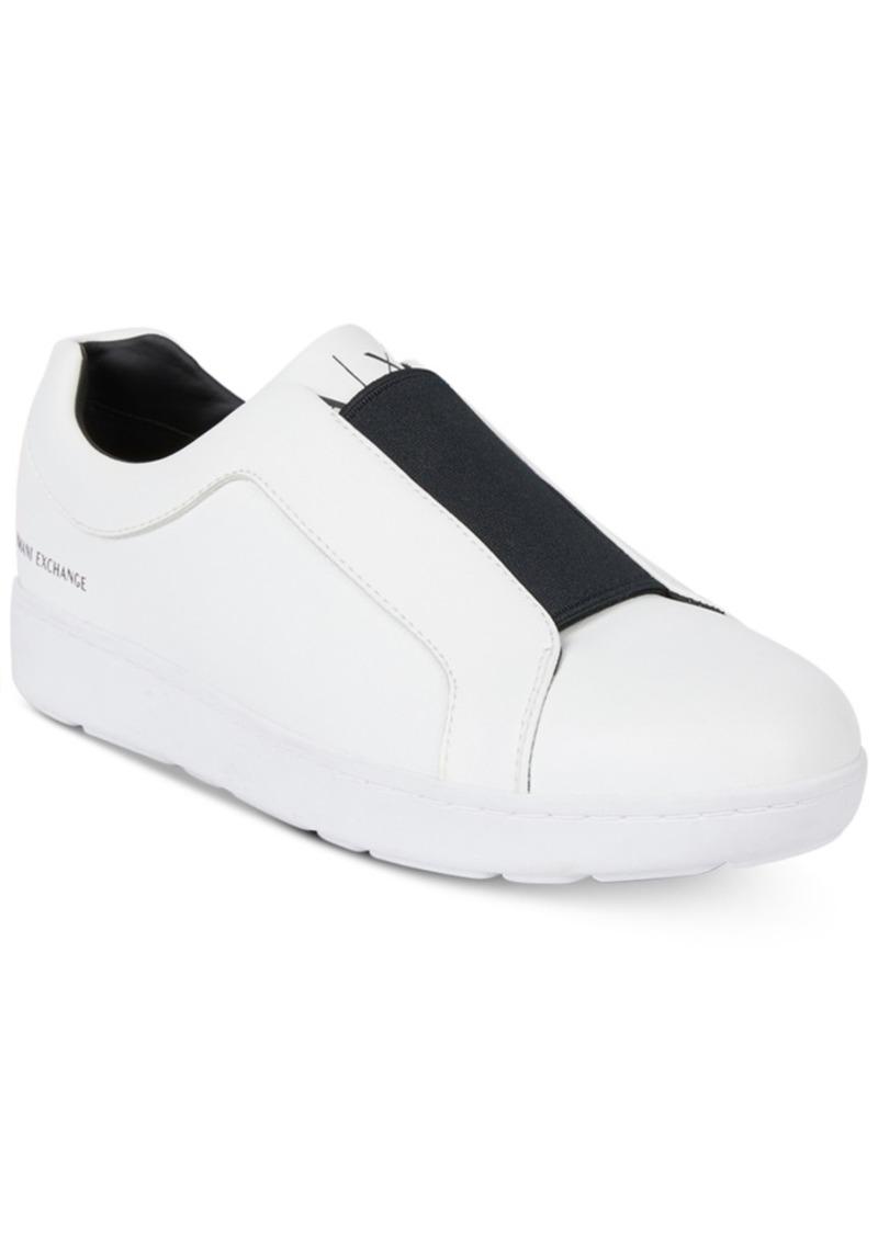 edcf8d17e Armani Exchange AX Men s Slip-On Sneakers Men s Shoes