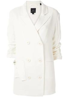 Armani Exchange double-breasted blazer